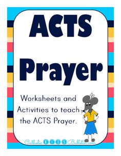 Prayer Writing Activity Sheet