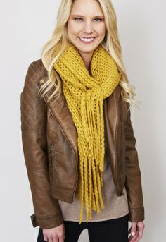 Loose Lux Knit Scarf