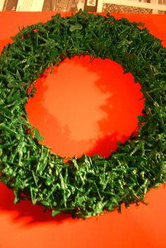 Toy solider wreaths (lots of language, but cute idea)
