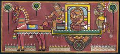 View Untitled Procession by Jamini Roy on artnet. Browse upcoming and past auction lots by Jamini Roy. Phad Painting, Worli Painting, Madhubani Art, Madhubani Painting, Indian Folk Art, Indian Artist, Indian Art Paintings, Nature Paintings, Jamini Roy