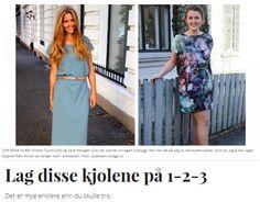 Syblogg: SY DET SELV - Vi er to jenter som syr klær, og ønsker å inspirere andre til å gjøre det samme!