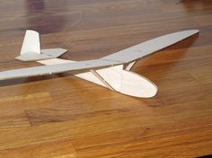 small balsa glider kit