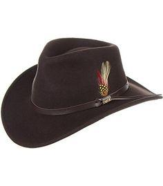 Billings Crushable Wool Waterproof Cowboy Hat d67d5fa865a6