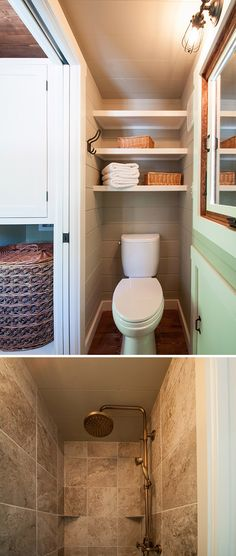 53 Best Tiny House Bathrooms Images In 2019 Tiny House Bathroom