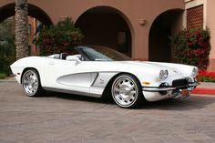 1962 Corvette CRC White