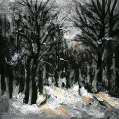 Winter Painting - Winter In Forest by Cuiava Laurentiu Forest Painting, Winter Painting, Art Prints, Wall Art, Outdoor, Art Impressions, Outdoors, Forest Pictures, Outdoor Games