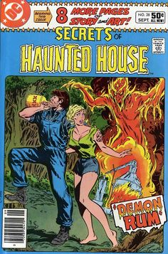 Secrets Of Haunted House #8, September 1980, cover by Don Heck
