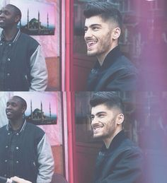 Zayn in MM<<<< He looks really evil haha but in a cute way