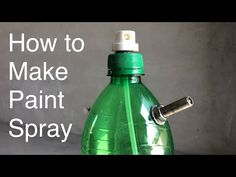 how to make air paint spray Homemade Paint, Homemade Tools, Ikea Bar, Graffiti Doodles, Diy Spray Paint, 3d Printing Diy, Woodworking Furniture Plans, How To Make Paint, Spray Can
