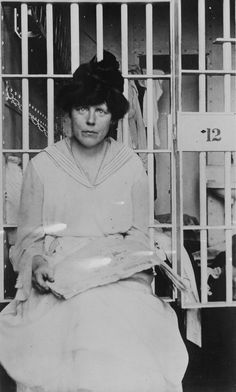 Imprisoned suffragettes endured force-feeding and torture-November 1917 Lucy Burns, who with Alice Paul established the first permanent headquarters for suffrage work in Washington, D.C., helped organize the suffrage parade of March 3, 1913, and was one of the editors of The Suffragist. Leader of most of the picket demonstrations, she served more time in jail than any other suffragist in America.