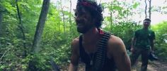 Badass Bachelor Party Turns Groom into Rambo for a Day {Video} http://groomsadvice.com/2015/02/10/badass-bachelor-party-turns-groom-into-rambo-for-a-day/