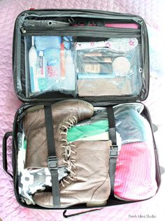 The Secret to Packing a Carry On Bag - Fresh Idea Studio