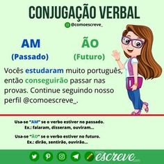 Learn To Speak Portuguese, Learn Brazilian Portuguese, Portuguese Language, Bullet Journal School, Learn A New Language, School Hacks, Study Notes, English Lessons, Teaching Tips