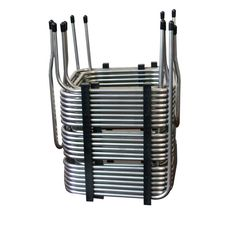 Stainless Steel Tubing, 316 Stainless Steel, Heat Exchanger, Tube, Conditioning, Shape, Unique, Design, Stainless Steel Pipe