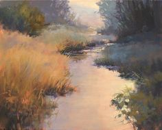 Early Morning Tranquility by Barbara Jaenicke Oil ~ 16 x 20