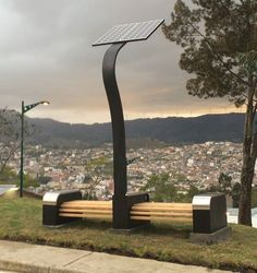 Printer Projects Jewelry Solar Power House Off Grid Urban Furniture, Street Furniture, Solar Lamp, Solar Lights, Solar Charging Station, Lanscape Design, Public Space Design, Solar Street Light, Solar Power Panels