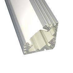 Perfil de Aluminio Corner Anodizado x 2m