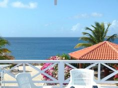 Curacao townhome rental - Your view from the balcony