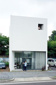ninomiya residence exterior portrait wow. I really love this house.