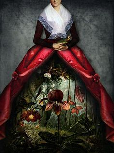 Inspired by children's books, fairy tales, German artist Catrin Welz-Stein created intriguing mixed media illustrations using vintage photos. She has passion to experiment surrealism which is meant to touch and speak emotionally.    Graduated from Graphic Design in Darmstadt, Germany, Catrin has worked for different advertising agencies in Germany, USA and Switzerland.