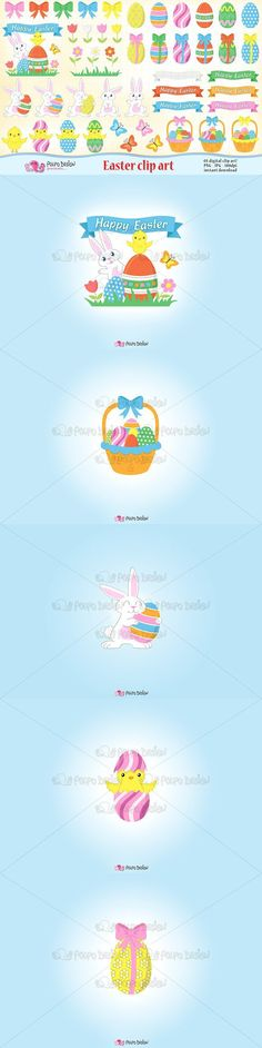 Easter clipart. Wedding Card Templates