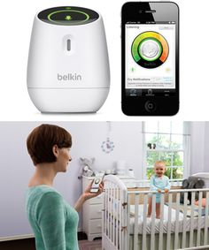 Use your iPhone as a baby monitor with WeMo
