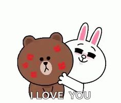 With Tenor, maker of GIF Keyboard, add popular Love You Bear animated GIFs to your conversations. Share the best GIFs now >>> Cartoon Kiss Gif, Kiss Animated Gif, Animated Heart, Hug Kiss Gif, Kiss Meme, Cute Love Images, Cute Love Gif, Diy Gifts Videos, Gif Lindos