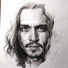 Алла Дзюрич: живые портреты карандашом