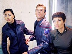 Hoshi, Tucker and T'Pol