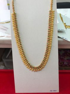 Gold Chain Design, Gold Jewellery Design, Gold Jewelry, Gold Necklace, American Diamond Jewellery, Gold Earrings Designs, Mango, Ornaments, Roof Tiles