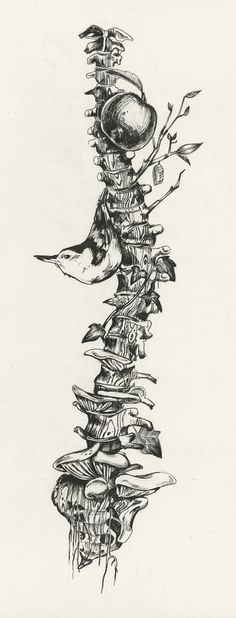 Pen and Ink - Artworks by Sara Suppan (this chick is awesome)