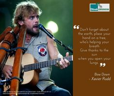 Australian singer-songwriter, Xavier Rudd has been an advocate for protection of the environment, ethnic and religious minorities and the rights of aboriginal people in Australia.Avid supporter of the Sea Shepherd Conservation Society in their efforts to protect marine wildlife, on 2015 he released the album Nanna, which was done in collaboration with the United Nations. Let us Listen! #ocean #xavierrudd #motivationalquotes #inspiration  #30YearsofDilmah #NoCompromise