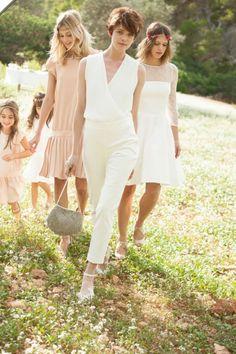Wedding Bridal Dress // Civil Wedding Ideas // La Redoute x Mademoiselle R // Cheap Wedding Dress // French fashion