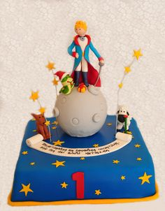 little prince cake ( happy birthday )