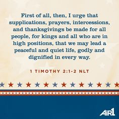 We're called to pray for all people. #pray #Air1
