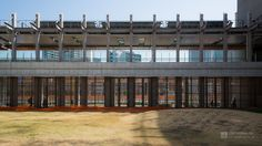 Minato Park Shibaura (みなとパーク芝浦). / Architect : NTT Facilities (設計:NTTファシリティーズ).