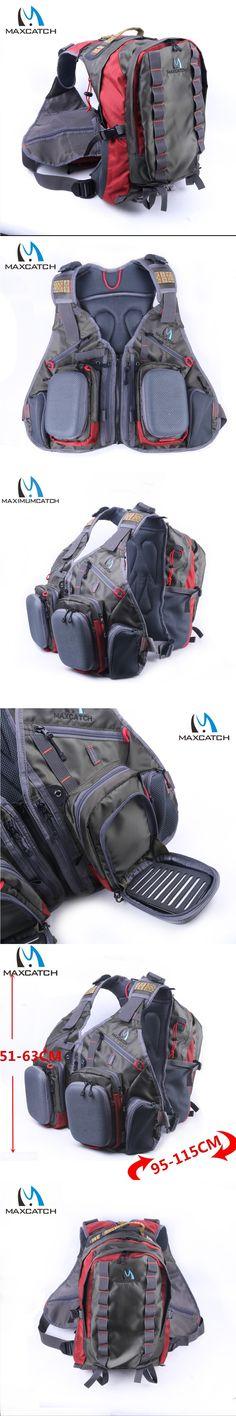 Maximumcatch Fly Fishing Vest Fishing Bag With Multifunction Pockets Adjustable Size Fishing Backpack
