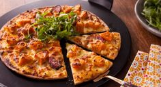 Friday pizza night is about to get a whole lot more delicious! Thanks to Better Homes and Gardens Australia for the recipe. Best Italian Recipes, My Recipes, Cooking Recipes, Favorite Recipes, Roast Pumpkin, Winter Recipes, Winter Food, Better Homes, Quick Meals