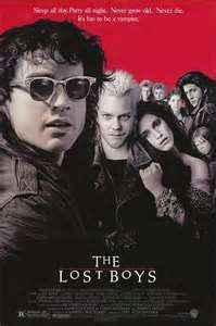 Good Vampire movie. 1987. Jamie Gertz was so pretty in it. Corey Haim and Corey Feldman are also in it.