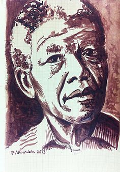 Today is the final goodbye. Rest in peace Mr Nelson Rolihlahla Mandela. Your legacy will go on Tata Mandela Art, Nelson Mandela, Portrait Paintings, Portraits, Jacob Zuma, Final Goodbye, World History Lessons, African Paintings, Joan Rivers