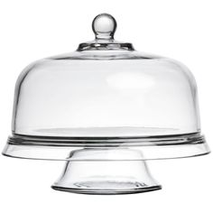 Presense 4-in-1 Cake Stand & Dome | Glass Cake Dome, Cake Display Set - Cake Dome, Tier Platter, Chip 'n Dip Plate & Punch Bowl from Anchor Hocking: Amazon.co.uk: Kitchen & Home