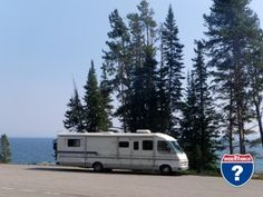 Lunch at Yellowstone Lake