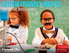 Pretend City Children's Museum is having autism friendly nights!