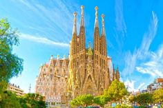 Barcelona: 1 to 3 Nights With Discovery, Wellness, Flamenco, Gaudi or Gourmet Package from Per Person* Camp Nou, Sierra Nevada, Gaudi, Valencia, Canada Tours, Costa, Residential Building Design, 1 Day Trip, Spanish Islands