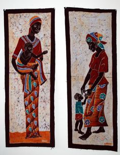 Hey, I found this really awesome Etsy listing at https://www.etsy.com/listing/226691926/african-batik-home-decor-art-for-sale