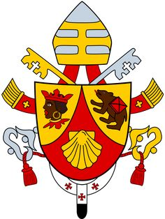 Papal coats of arms of Pope Benedict XVI (2005 - 2013) - Wikipedia, the free encyclopedia