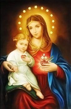 51 Best Virgen Maríasan José Y Jesús Niño Images Catholic