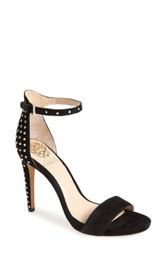 Vince Camuto 'Fora' Studded Suede Ankle Strap Sandal (Women) available at #Nordstrom