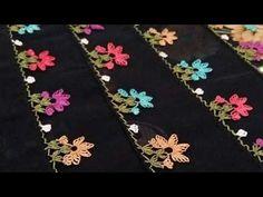 Çiçekli İğne Oyası Yapılışı & igne oyasi modelleri & how to make needle lace tutorial - YouTube Art Textile, Textiles, Needle Lace, Bargello, Couture, Embroidery Thread, Floral Tie, Elsa, Diy And Crafts