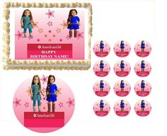 American Girl Doll YOU PICK Which Doll You Want by PartyEdibles, $7.25